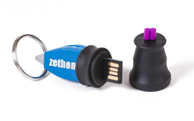 Medical forceps shaped 3D custom USB stick